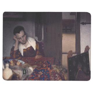Un chica dormido por Juan Vermeer Cuadernos