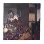 Un chica dormido por Juan Vermeer Tejas