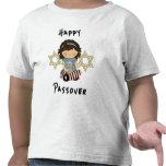 Un chica feliz del Passover Camisetas