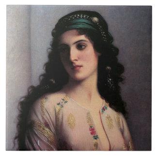 Un chica judío de Tánger Azulejos