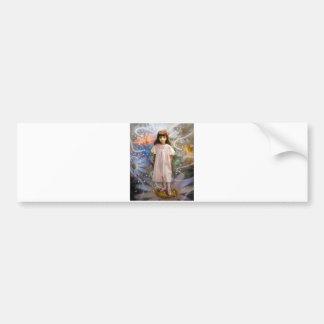 Un chica y siete hadas 2 pegatina de parachoque