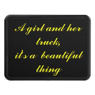 Un chica y su camión - hermosos tapas de remolque
