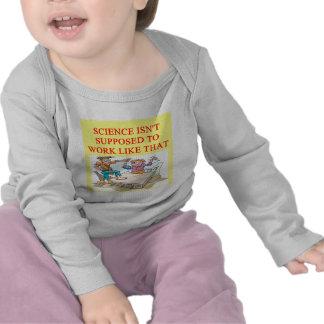 un chiste divertido de la ciencia para usted camisetas