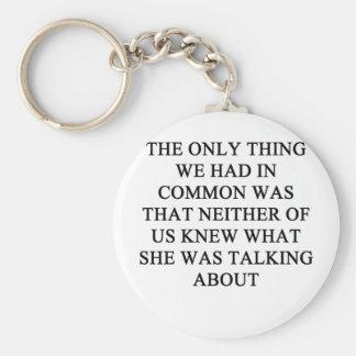 un chiste divertido del divorcio para los hombres llavero personalizado