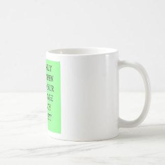 un chiste divertido del divorcio para los hombres taza de café