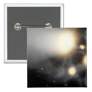 Un choque-para arriba de galaxias pin cuadrada 5 cm