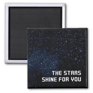 Un cielo por completo de estrellas imán cuadrado