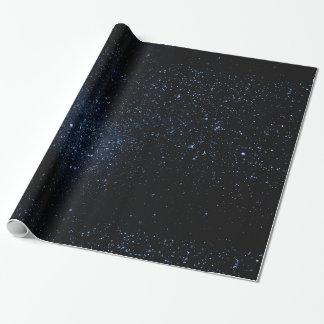 Un cielo por completo de estrellas papel de regalo