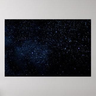 Un cielo por completo de estrellas póster