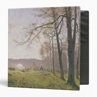 """Un claro en una madera otoñal, 1890 carpeta 1 1/2"""""""