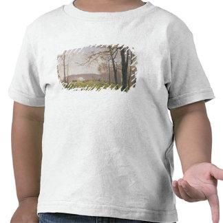 Un claro en una madera otoñal, 1890 camisetas