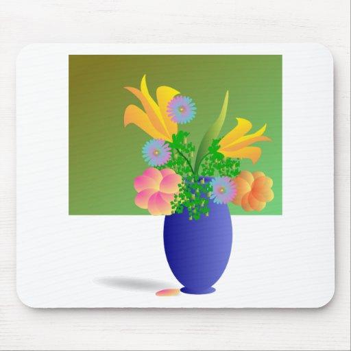 Un Clipart florece el ramo Tapete De Raton