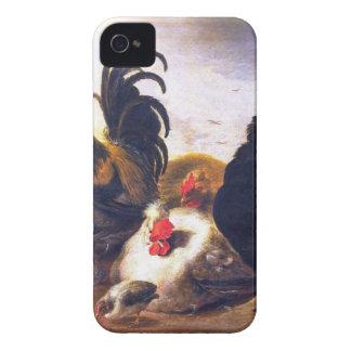 Un cluch de viejos cloqueos iPhone 4 Case-Mate funda