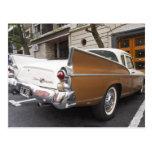 Un coche clásico del halcón de plata de Studebaker Postal