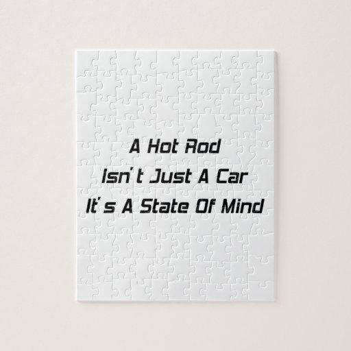 Un coche de carreras no es apenas un coche que es  rompecabezas