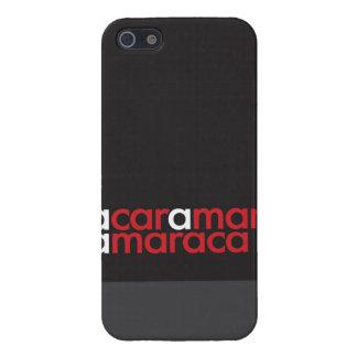 """Un coche, hombre, un Maraca "" iPhone 5 Protector"