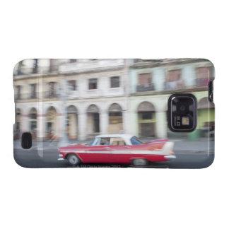 Un coche viejo que cruza las calles de La Habana, Samsung Galaxy S2 Carcasas