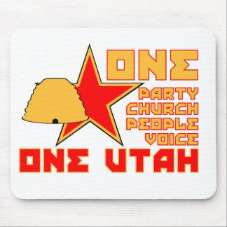Un cojín de ratón de Utah Alfombrilla De Ratones