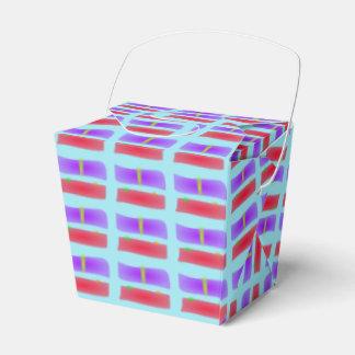 Un colmillo verde cajas para regalos de fiestas
