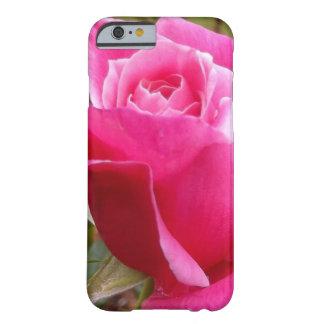 Un color de rosa inglés de color rosa oscuro funda para iPhone 6 barely there