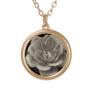 Un color de rosa para el más estimado…. collar dorado