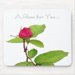Un color de rosa para usted… alfombrilla de ratón