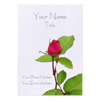 Un color de rosa para usted… tarjeta personal