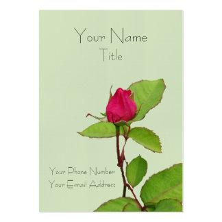 Un color de rosa para usted… tarjeta de visita