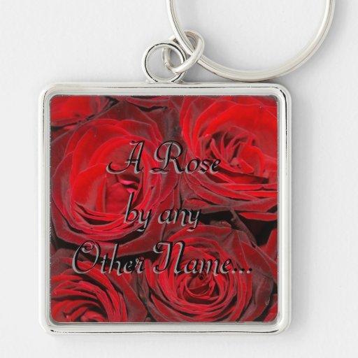 Un color de rosa por cualquier otro conocido… llaveros