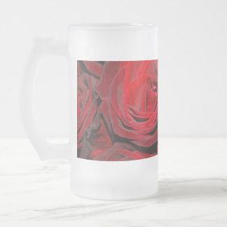 Un color de rosa por cualquier otro conocido… taza de cristal