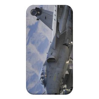 Un combatiente italiano de la fuerza aérea AMX iPhone 4 Fundas