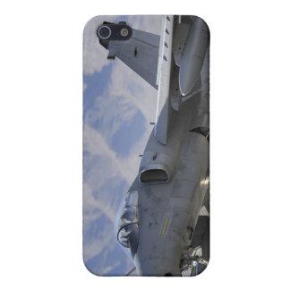 Un combatiente italiano de la fuerza aérea AMX iPhone 5 Fundas