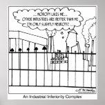 Un complejo de inferioridad industrial posters
