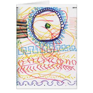 Un compromiso y una expresión ordenados de generat tarjeta de felicitación