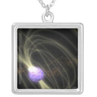 Un concepto del artista del magneta 1806-20 de SGR Collar Plateado