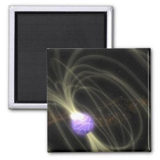 Un concepto del artista del magneta 1806-20 de SGR Imán Cuadrado