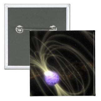 Un concepto del artista del magneta 1806-20 de SGR Pin Cuadrado