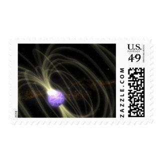 Un concepto del artista del magneta 1806-20 de SGR Sellos Postales