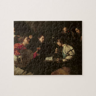Un concierto c 1610-20 aceite en lona rompecabeza