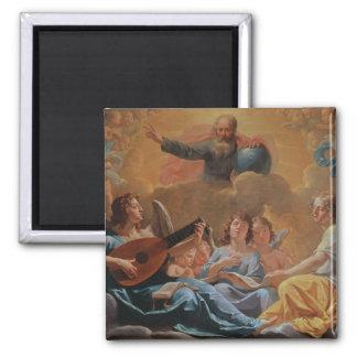 Un concierto de ángeles imán para frigorifico