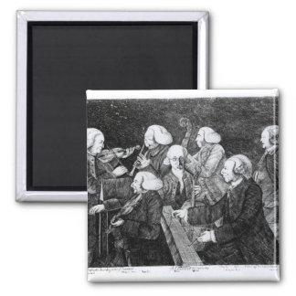 Un concierto en Cambridge, 1770 Imanes Para Frigoríficos