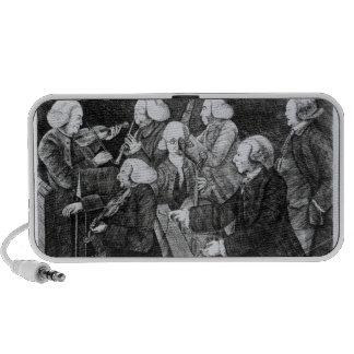 Un concierto en Cambridge, 1770 iPhone Altavoz
