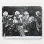 Un concierto en Cambridge, 1770 Tapete De Ratones