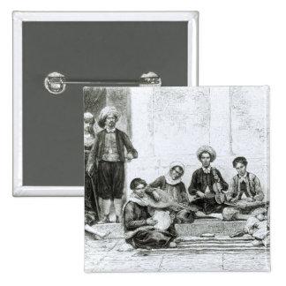 Un concierto judío, Tlemcen Pin Cuadrada 5 Cm