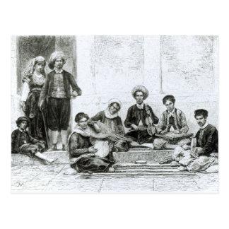 Un concierto judío, Tlemcen Postal