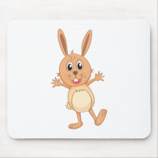 un conejo alfombrilla de ratón