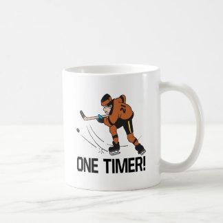 Un contador de tiempo tazas de café