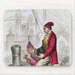 Un Convict en la colonia penal de Toulon Alfombrilla De Ratones