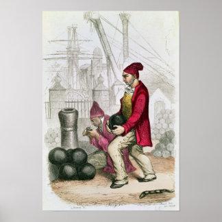 Un Convict en la colonia penal de Toulon Poster