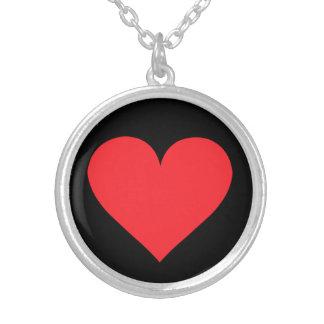 Un corazón del amor y del afecto pendientes